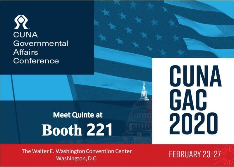 Quinte is attending CUNA's 2020 Governmental Affairs Conference